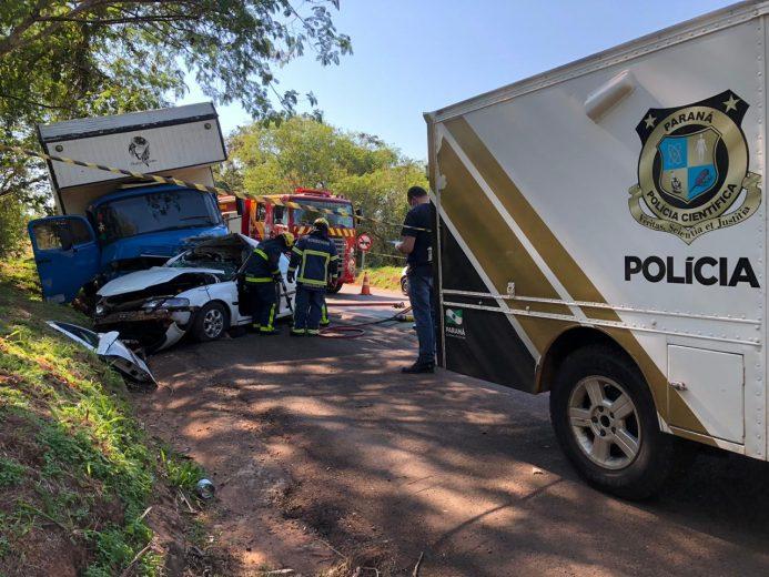 Mais uma morte na rodovia PR-323 em Umuarama