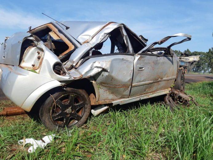 Identificado homem morto em acidente hoje em Francisco Alves