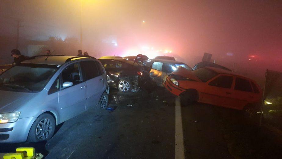 Trágico acidente deixa oito mortos e 26 feridos na BR-277
