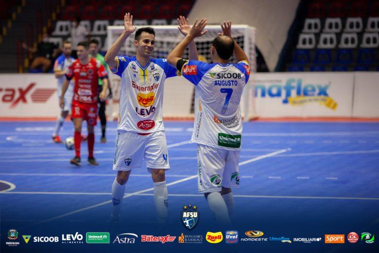 Umuarama estreia com vitória na Liga Nacional de Futsal