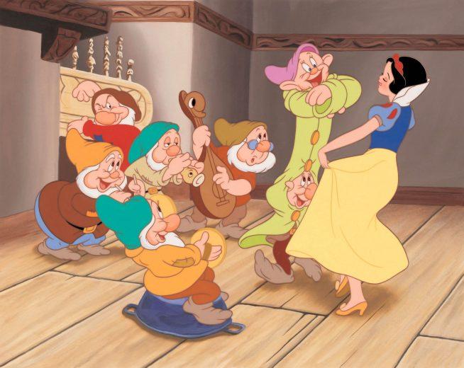 """""""Branca de Neve e os Sete Anões"""" foi o primeiro longa animado da Disney"""