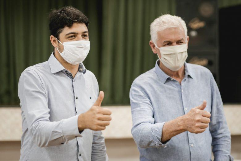 Convenção confirma prefeito Heraldo Trento candidato à releição em Guaíra