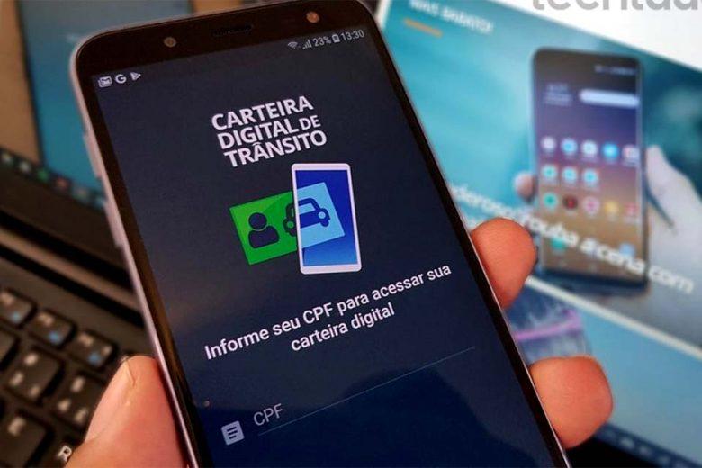 PM orienta os motoristas a baixar Carteira Digital de Trânsito na Internet