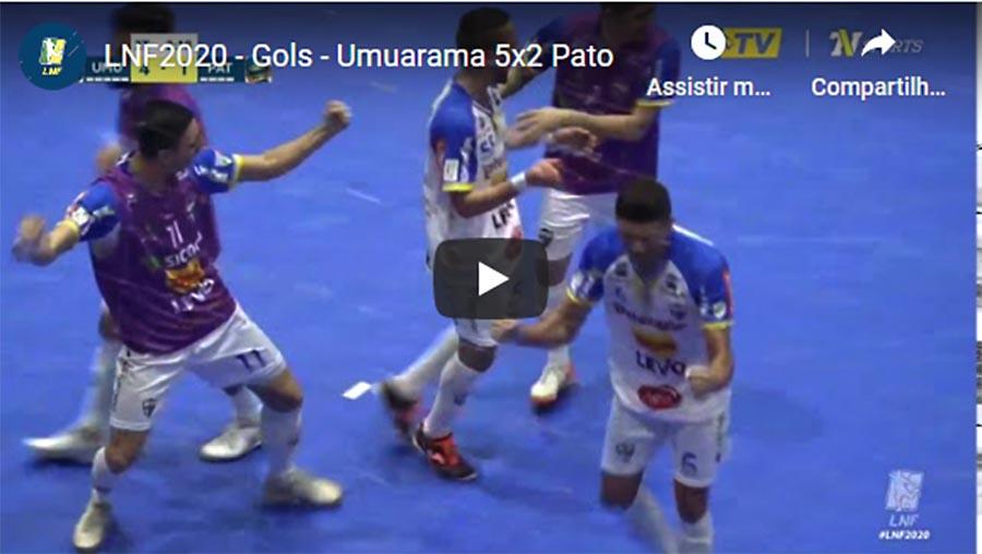 Umuarama vence o Pato por 5 a 2. Confira os gols