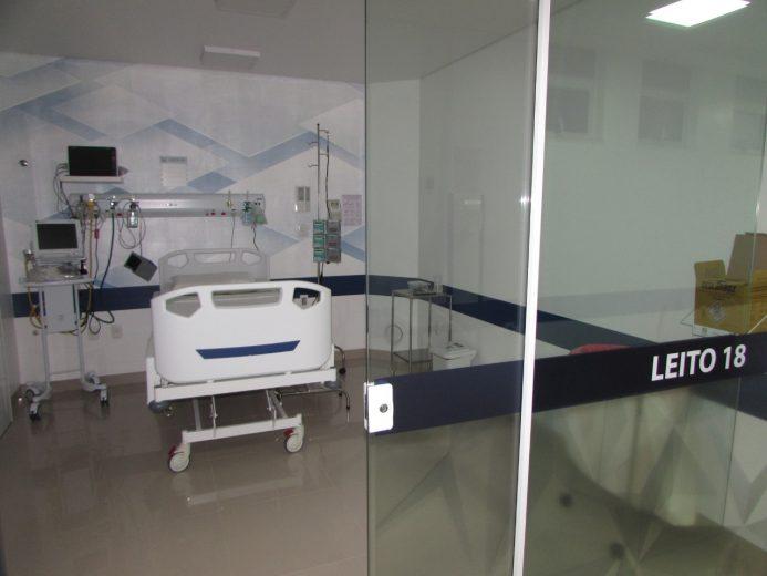 Governo do Paraná desativa mais leitos de UTI e enfermarias de covid-19 em Umuarama