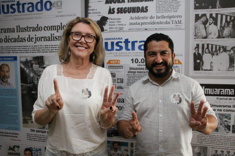 Professora Beth e Emanuel Bueno trazem um Plano de Governo com participação popular