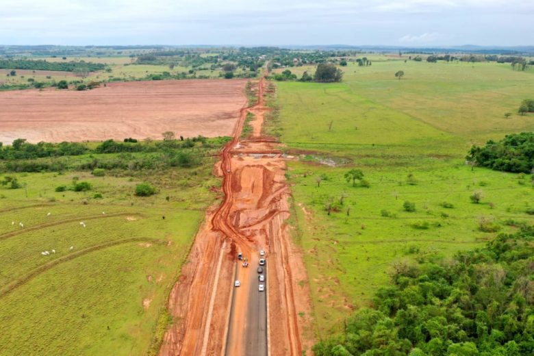 Itaipu vai investir R$ 228 milhões na BR-487, a Estrada da Boiadeira na região