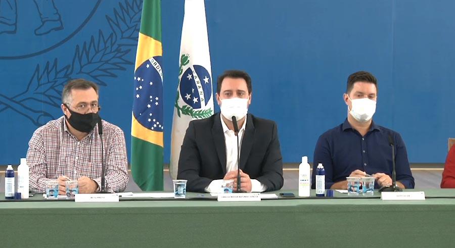 Paraná suspende aulas presenciais, serviços não essenciais e amplia toque de recolher (Atualizada)