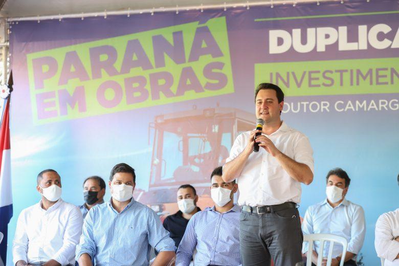 Governador Ratinho Junior dá início às obras de duplicação em mais dois trechos