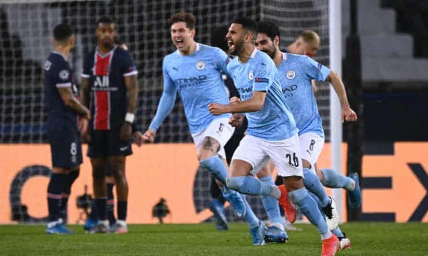 Manchester City vence novamente o PSG e se classifica para a final da Liga dos Campeões