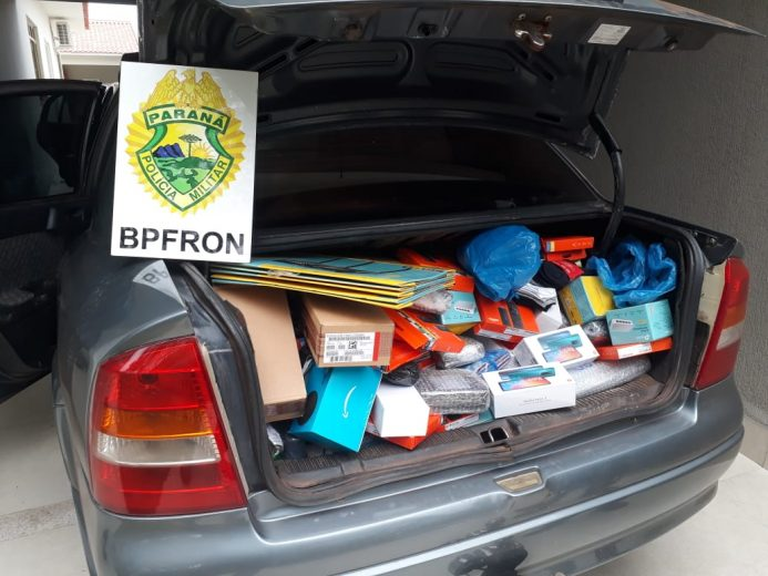 Contrabando é apreendido em Umuarama pelo BPFron