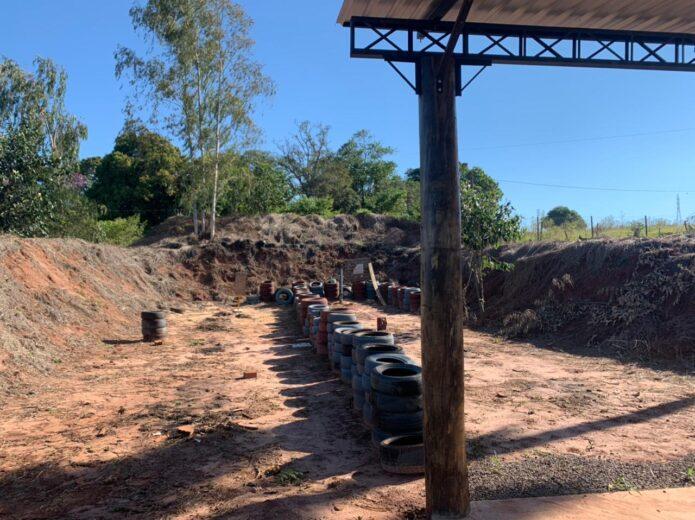 Estande de tiro irregular é interditado em Umuarama