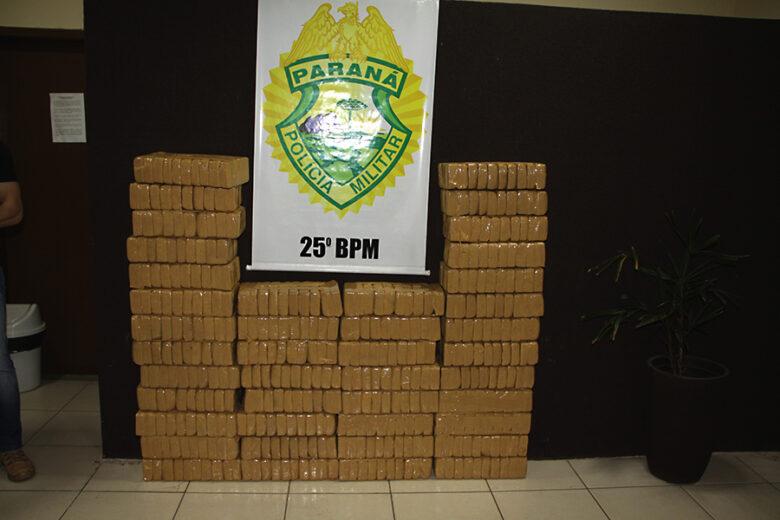 425 kg de crack, avaliado em R$ 15 milhões, estava enterrado em Carbonera
