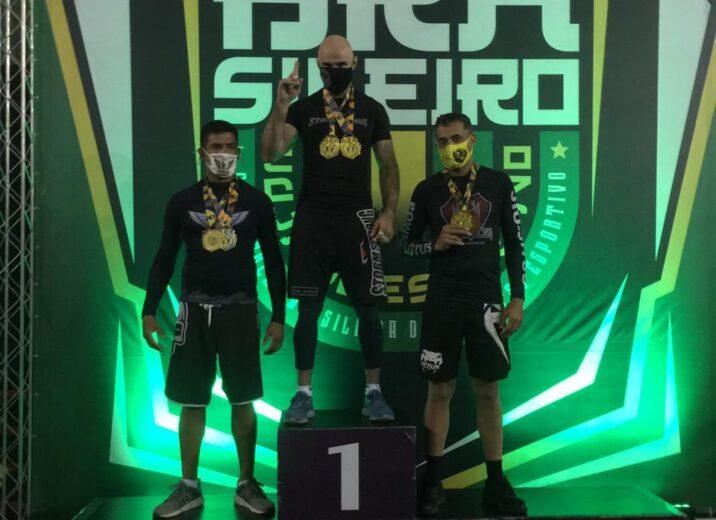 Frizon é campeão faixa preta do Campeonato Brasileiro de Jiu-Jítsu da CBJJE