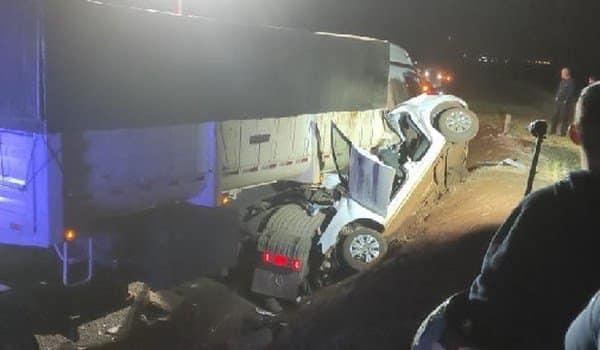 Preso por embriaguez motorista de carreta envolvida em acidente que matou 5 pessoas