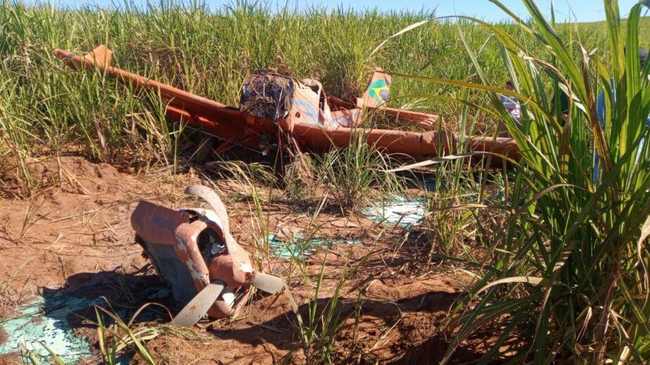 Piloto que caiu com avião em Umuarama sai andando do hospital