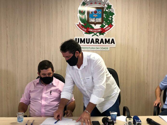 Pimentel assume Prefeitura de Umuarama e anuncia novos secretários