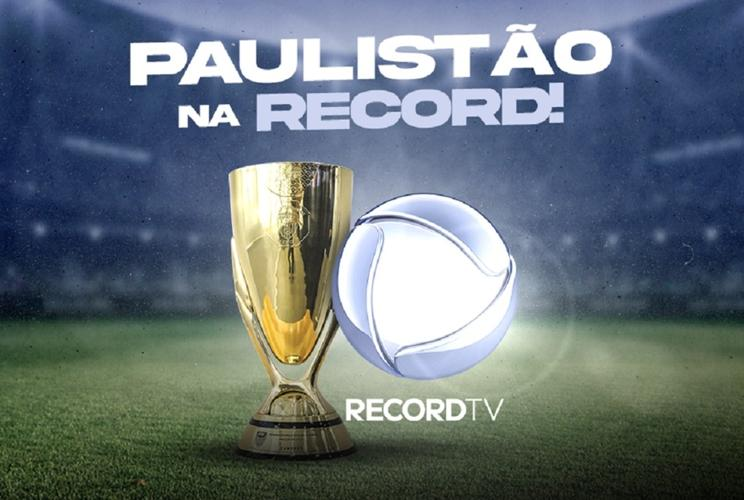 Record adquire direitos para exibir Paulistão a partir de 2022