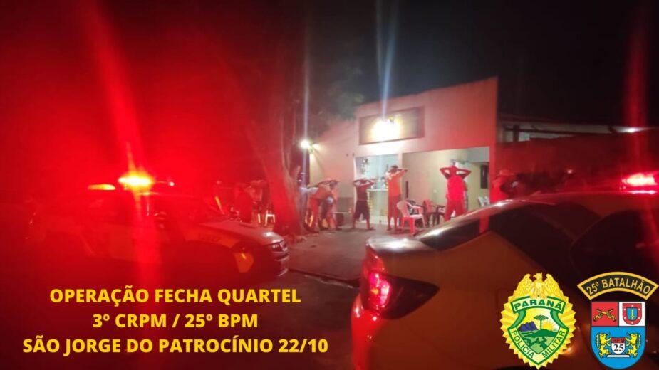 Operação Fecha Quartel III reforça o policiamento em Umuarama e em todo o Estado